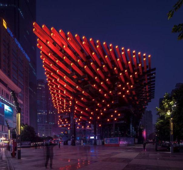 Chongqing Guo Tai Arts Center Lighting Design