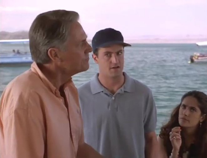 Matthew Perry And John Bennett Perry Played Father And Son In Fools Rush In (1997)