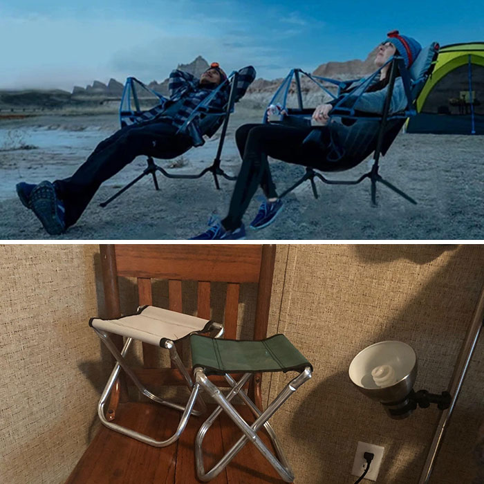 Ordered Some Reclining Camping Chairs Online