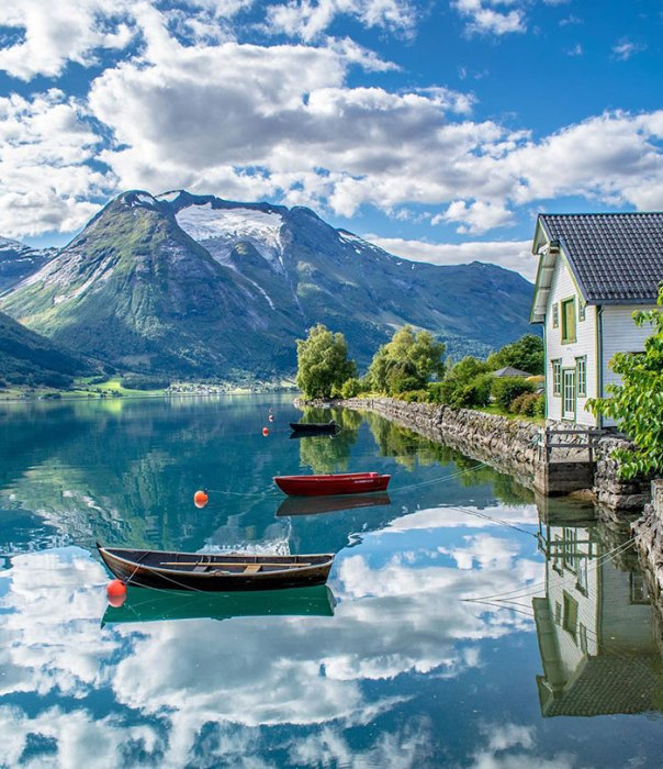 Oppstryn, Norway Looking Like A Dreamland