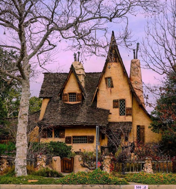There Is A House Near Me That Looks Like It's Out Of A Fairytale