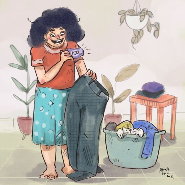 Discovering Money In Those Freshly Laundered Clothes