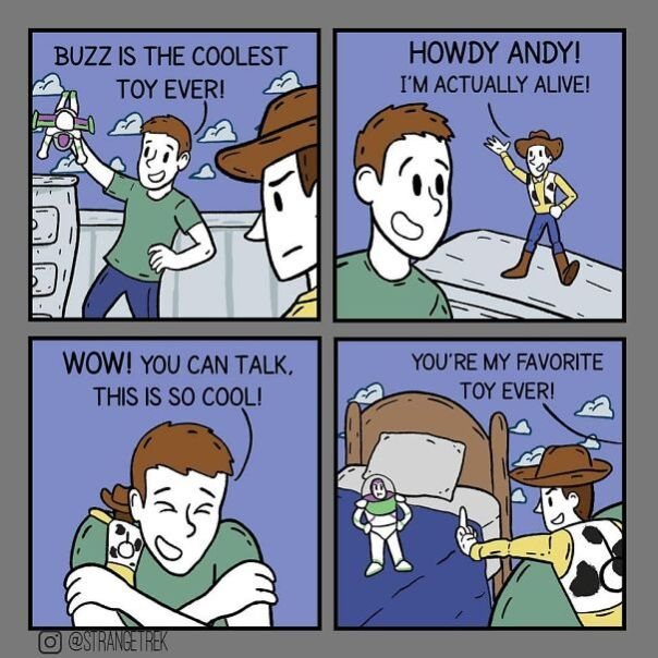 Strangetrek Will Amuse You With His Fun And Sincere Comics