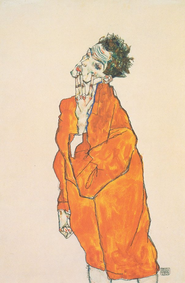 """""""If It Looks Like The Artistic Equivalent Of A Nicotine Addiction, Its An Egon Schiele"""""""