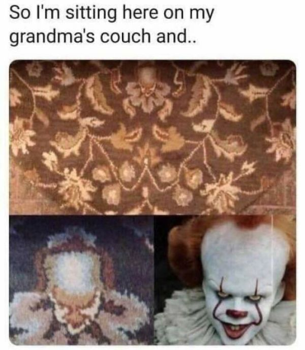 We All Float On Grandma's Sofa....
