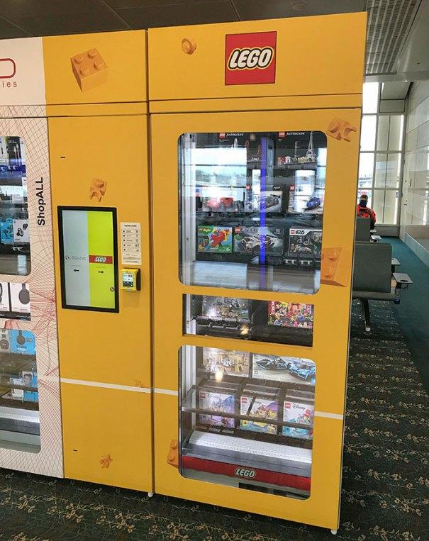 Orlando International Airport Has LEGO Set Vending Machines