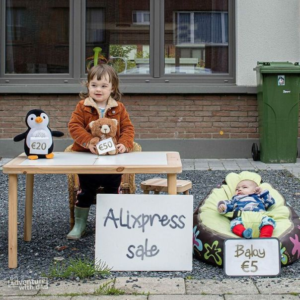 Alix Has Decided To Collect Money To Buy Some New Toys. Let's Hope Her New Store Will Be A Succes