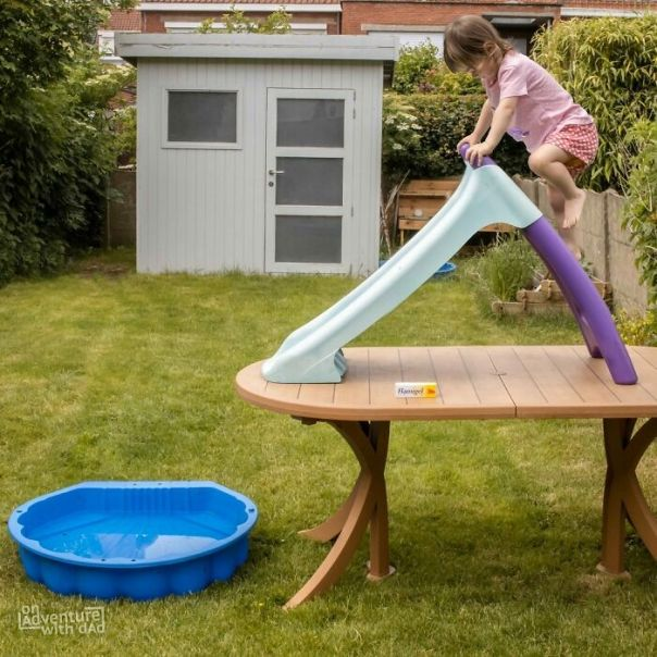 I Think Alix Wants To Be A Stuntwoman When She Grows Up