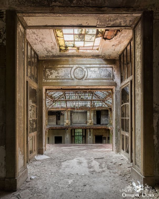 The Architecture Of The Location Is Stunning, With The Subdued Colours Allowing The Diverse Textures Of Decay To Dominate The Photographs