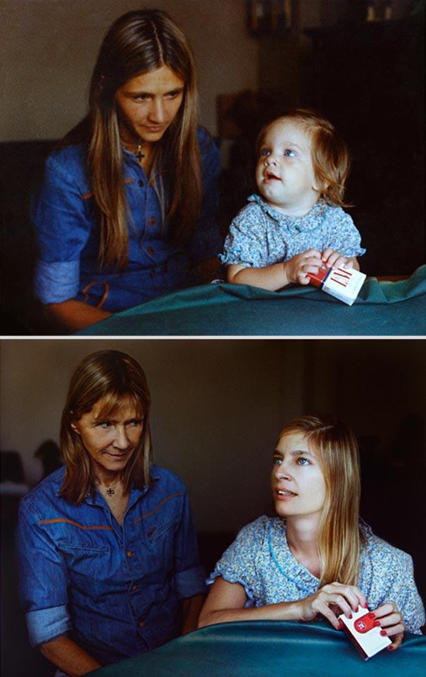 back to the future 16b - Fotógrafa Argentina recria foto antiga com a mesma pessoa anos depois