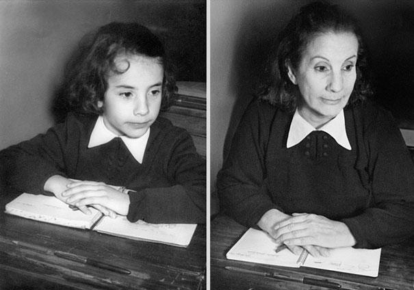 back to the future 5 - Fotógrafa Argentina recria foto antiga com a mesma pessoa anos depois