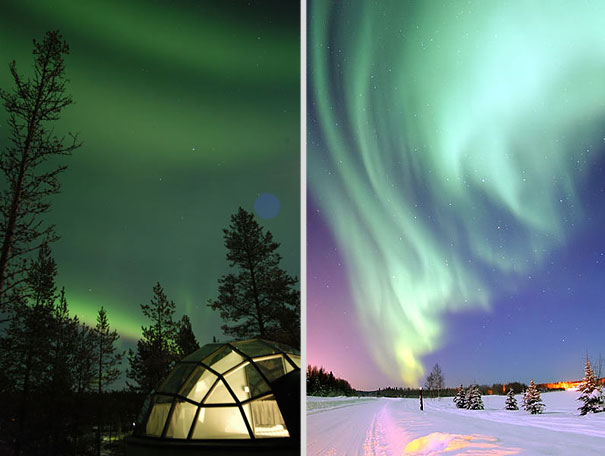 Best Place Finland See Northern Lights