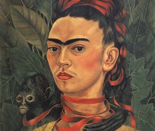 If Every Painting Is The Face Of A Uni Browed Woman Its Frida