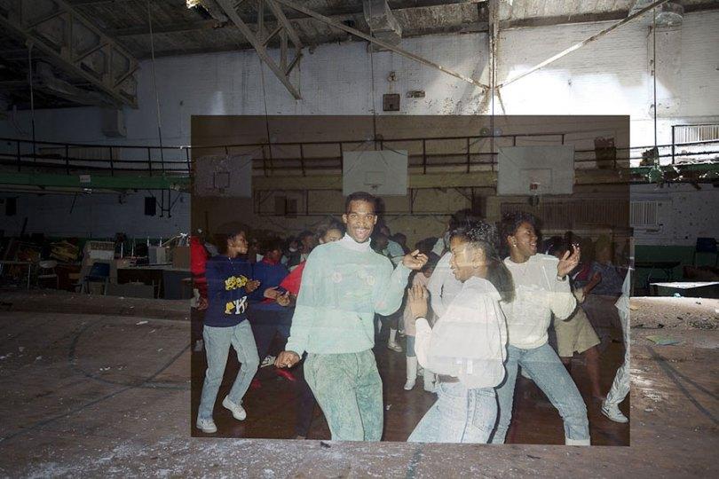 then and now abandoned school in detroit 22 - Fotos de uma escola abandonada em Detroit (antes e depois)