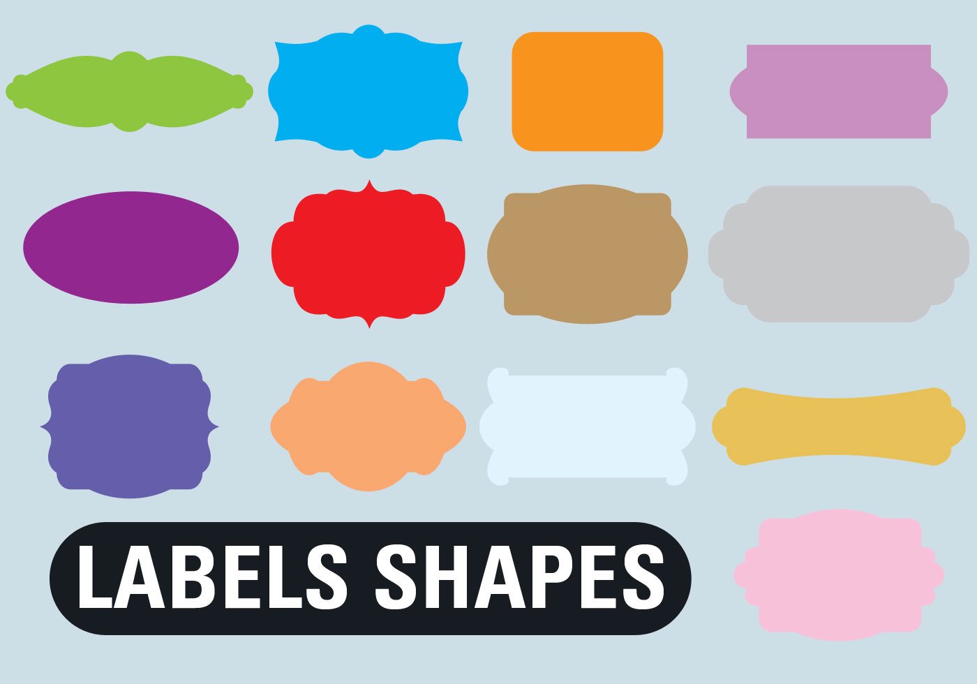 Label Shapes Custom Tags
