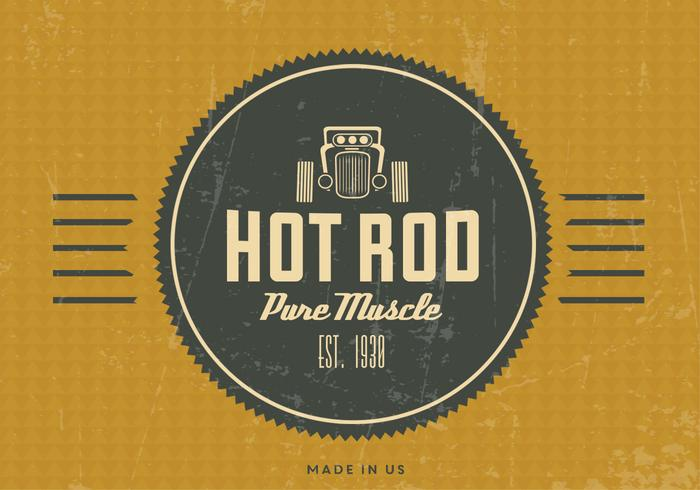 fond d ecran vintage vintage rod hot