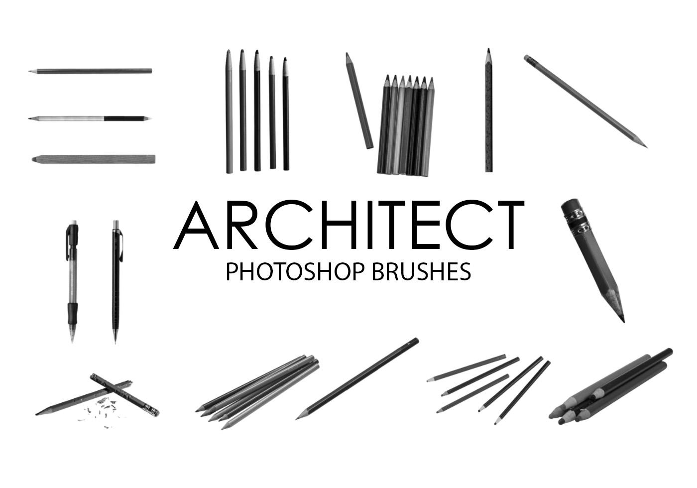 Architect Photoshop Brushes