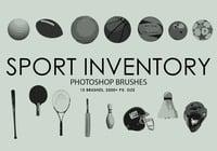Deporte libre de inventario Pinceles para Photoshop