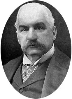 JP Morgan portrait
