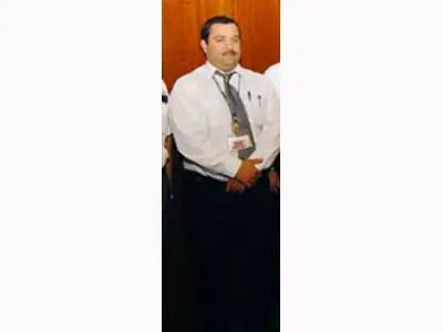 Superintendent of Maintenance Vito Sicolo