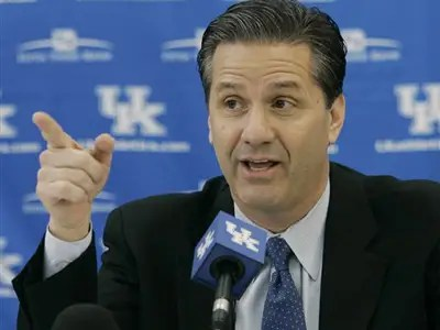 #3 John Calipari, Kentucky