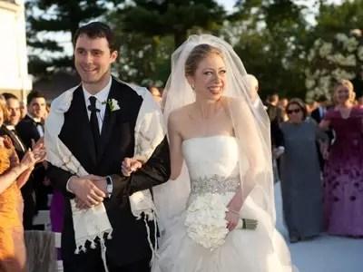 #5 Chelsea Clinton and Marc Mezvinsky