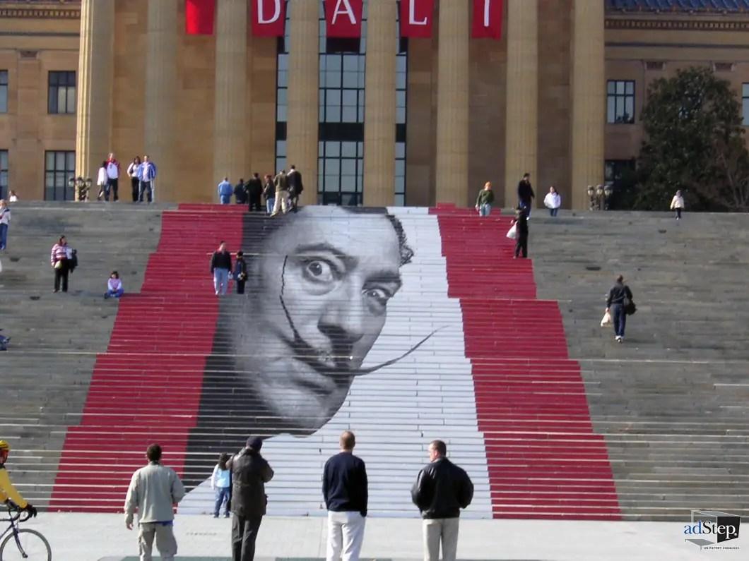 Dali exhibit at the Philadelphia Museum of Art