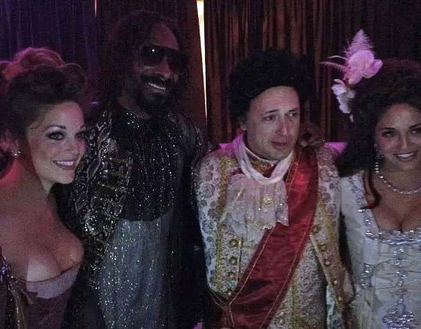 Yammer's David Sacks threw himself an 18th Century-Style 40th birthday party with Snoop Dogg at a $125 million mansion, Fleur de Lys in Los Angeles.