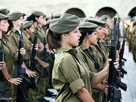 Female Israeli Soldiers Are Proving Themselves In Combat ...