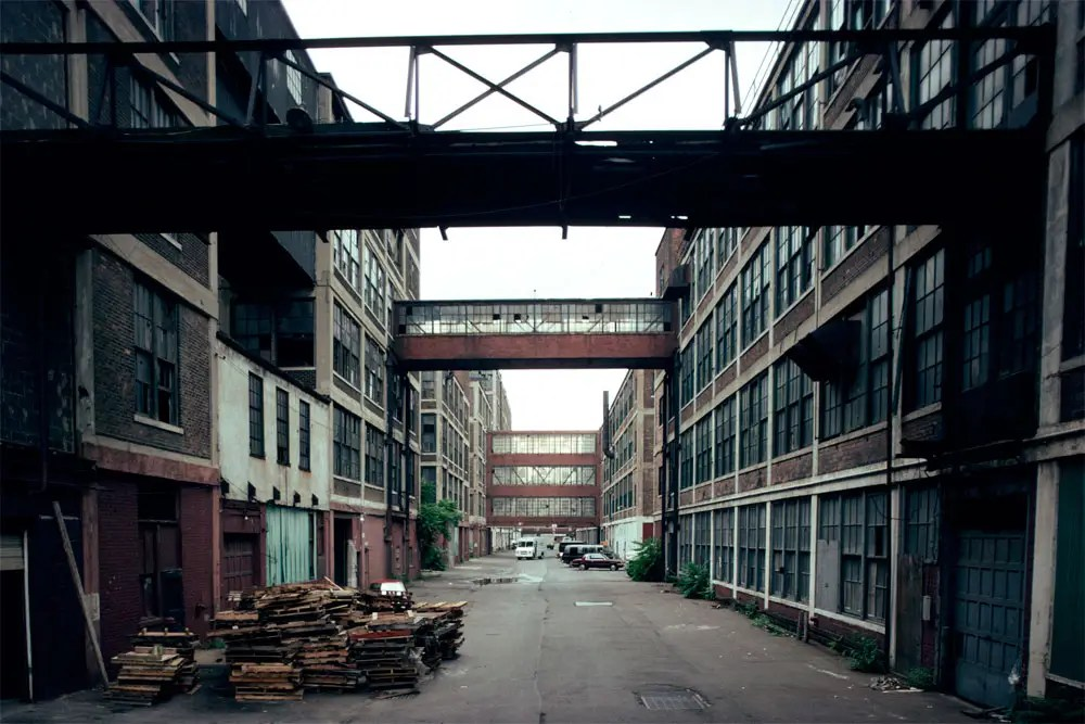Former Packard Plant, 1993