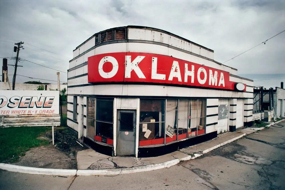 Former Oklahoma Gas Station, 1996