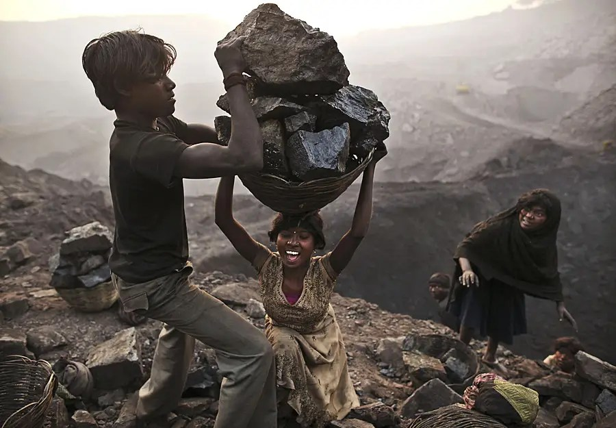 Now take a look at the life of India's illegal coal miners...