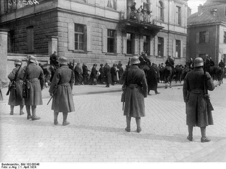At the end of September of 1923, the German Chancellor declared a state of emergency and put Germany under military rule