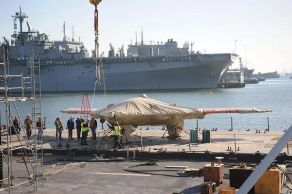 The Navy's Modified X-47B Drone Makes China's 'Carrier ...