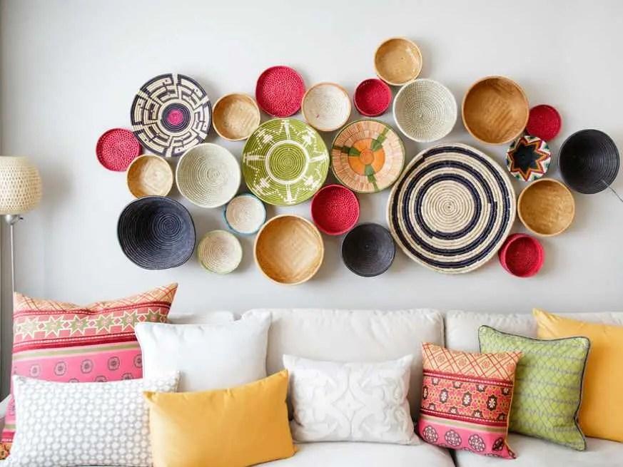 A Dozen Creative Ideas For Decorating Blank Walls ... on Creative Wall Decor  id=71931