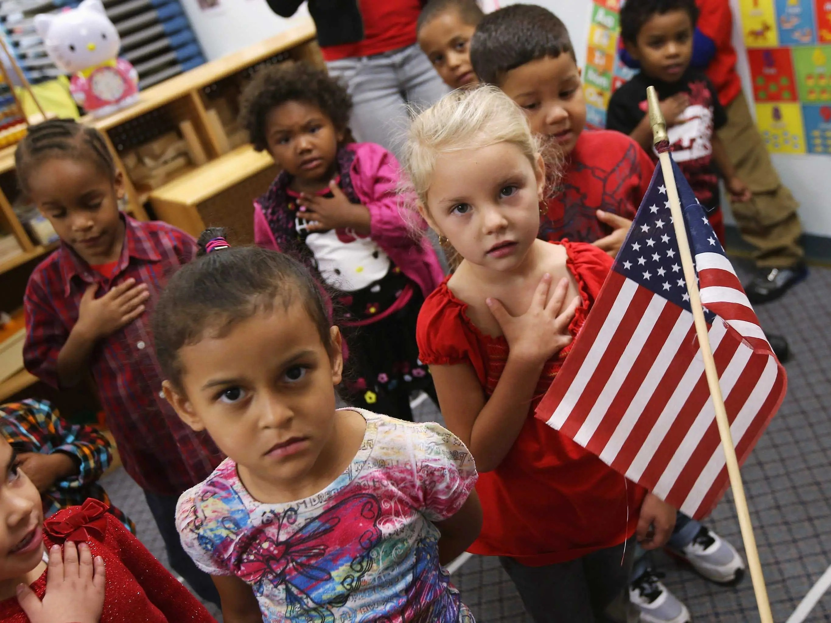 Why Under God Was Added To The Pledge Of Allegiance