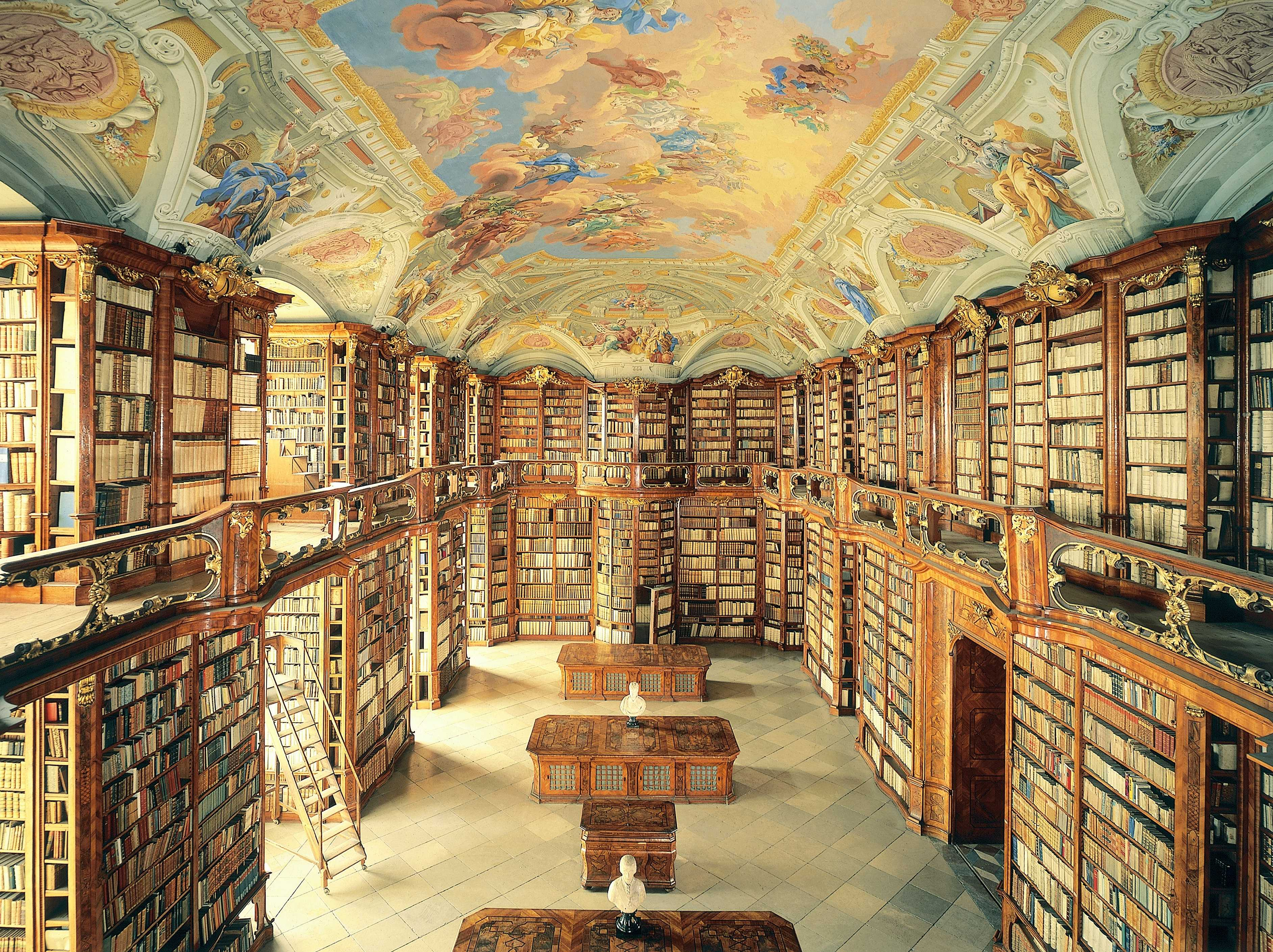 Best Libraries From Around The World - The Admont