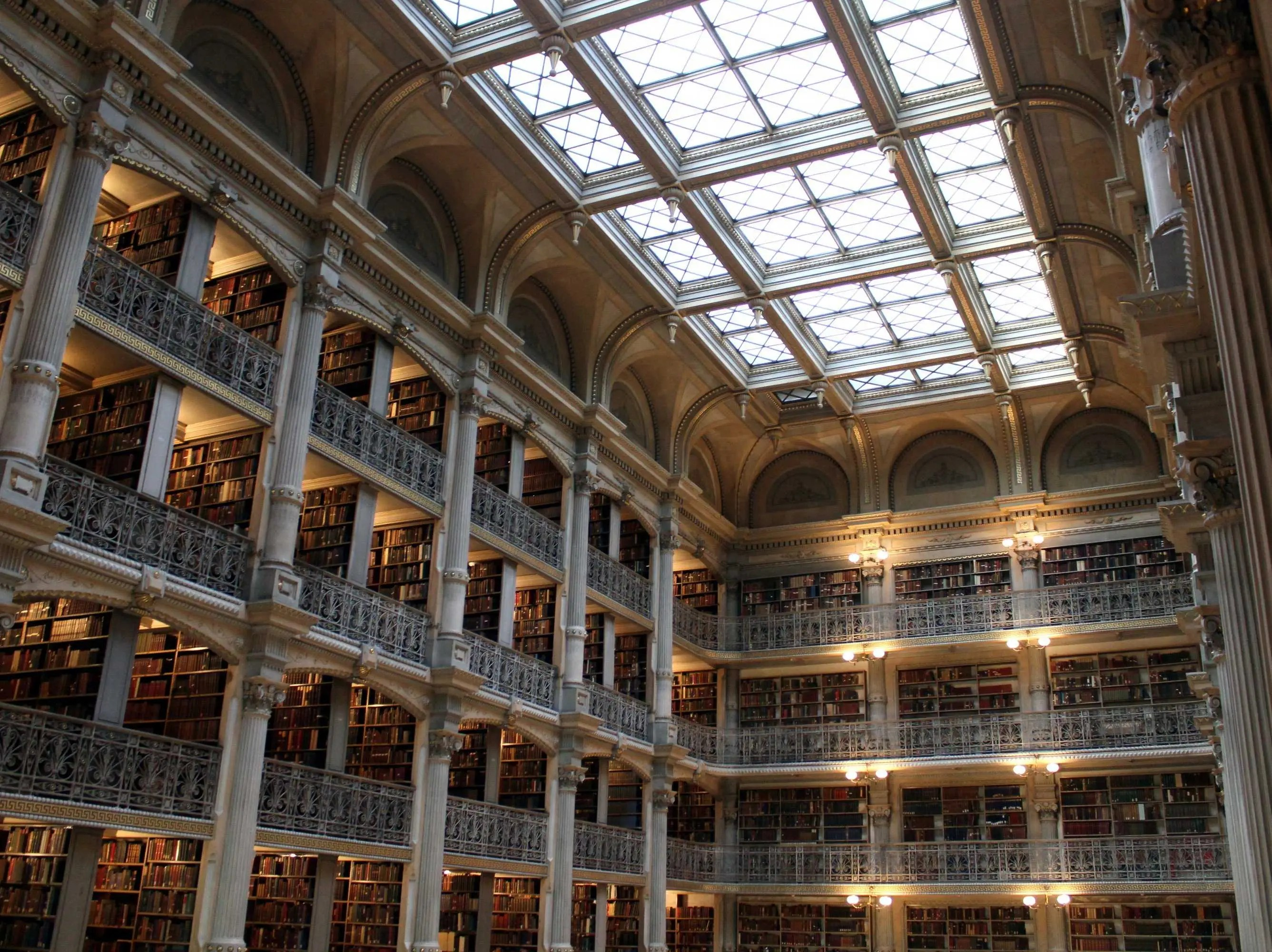 Libraries From Around The World - Peabody