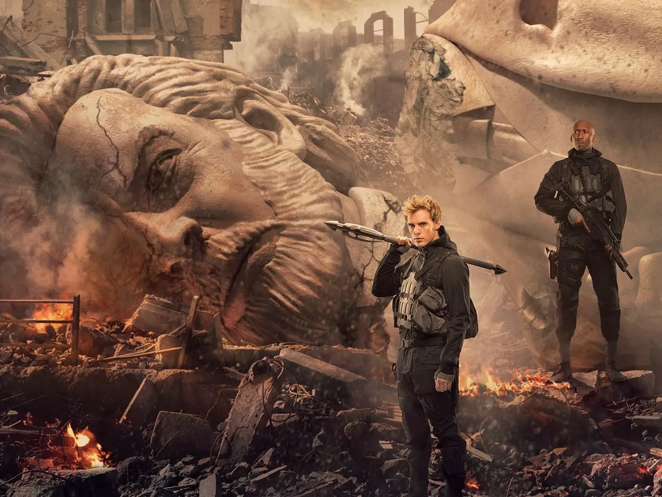 The Brand New Poster For The Final Hunger Games Is Bold