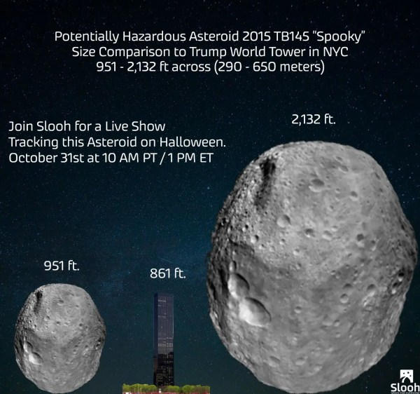 A giant space rock 2.5 times taller than Trump Tower is ...