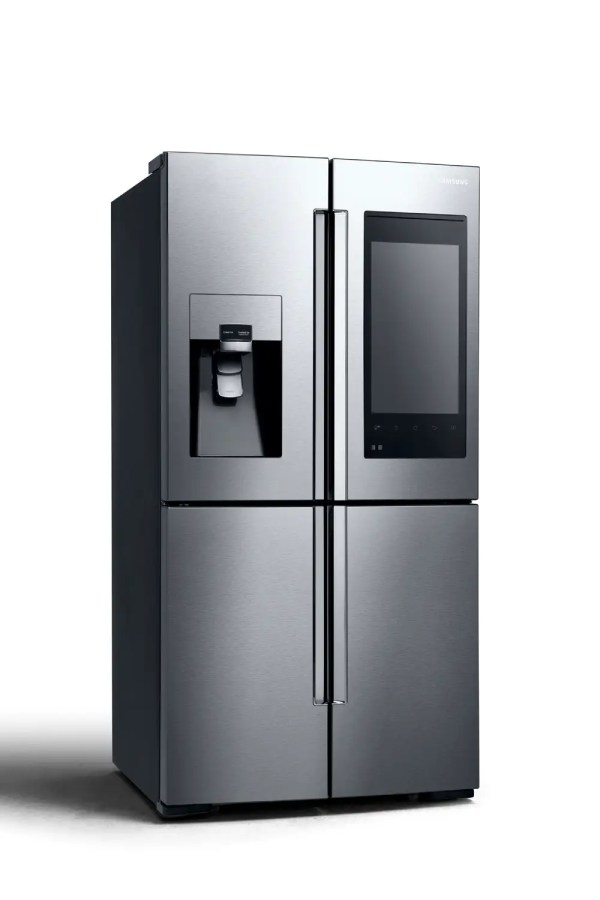 Samsung's new fridge looks like a giant smartphone ...