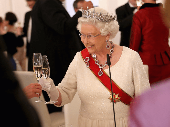 Image result for dining with the queen