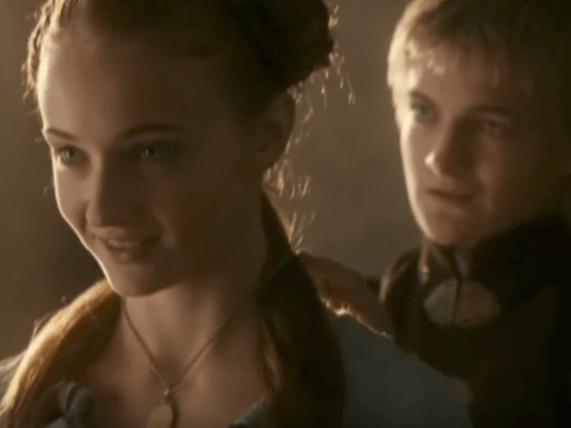 33. Sansa Stark and Joffrey Baratheon