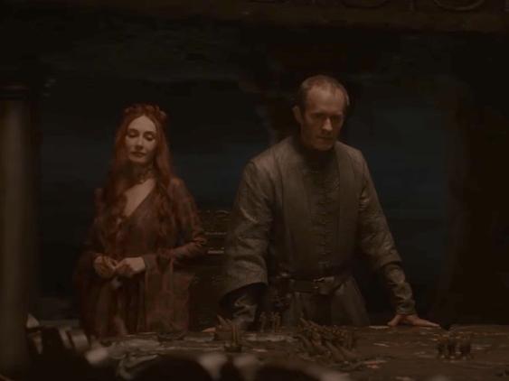 31. Melisandre and Stannis Baratheon