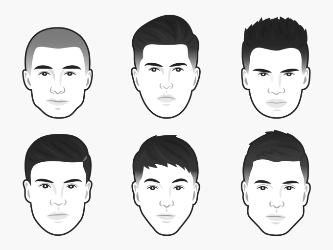 the best men's haircut for every face shape | business insider