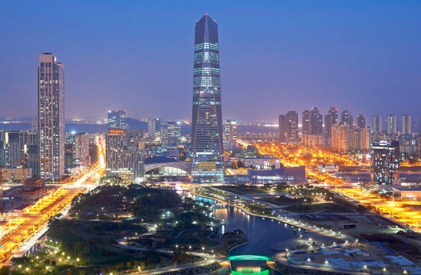 South Korea is building a $44 billion city designed to ...