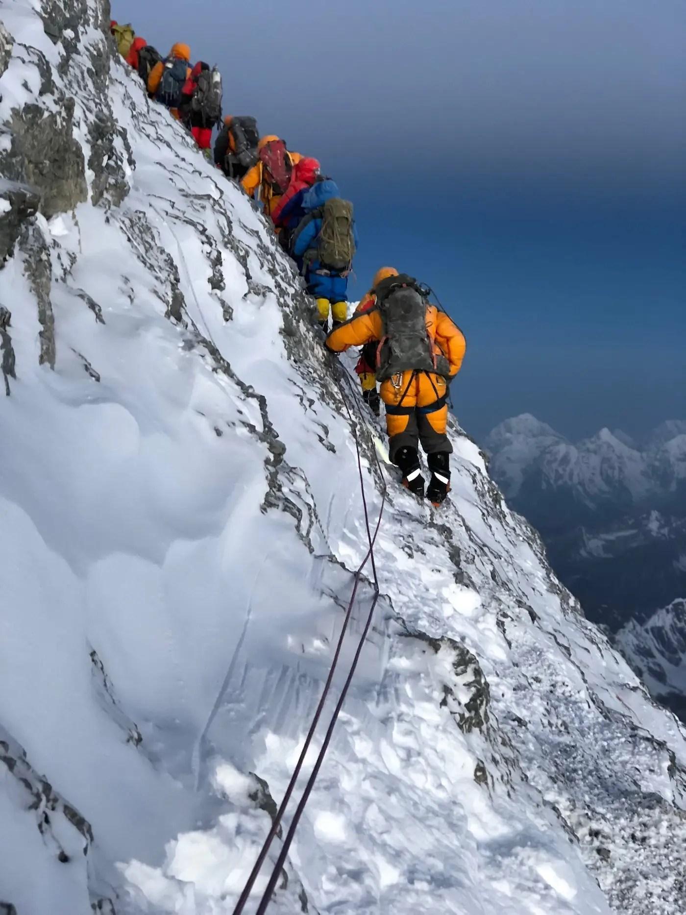 A Climber Saw Her Partner Break His Leg On Mount Everest