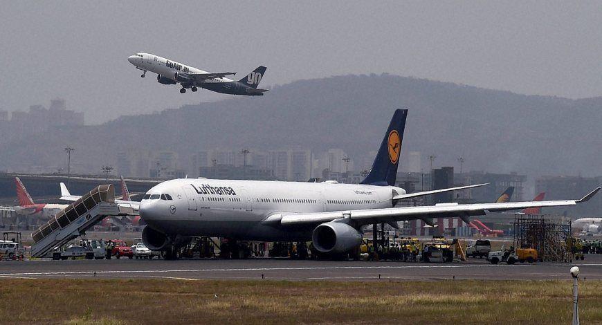 lufthansa air france air china start non stop flights from mumbai to frankfurt