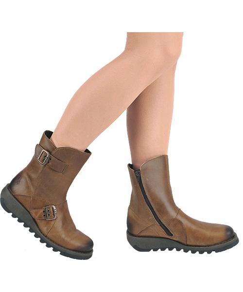 Boots FLY London Sminx Seti P142426005 Camel Women Boots