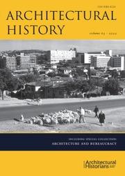 Architectural History   Cambridge Core